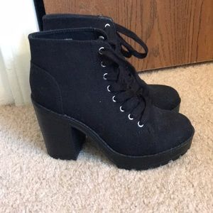 H&M chunky heeled booties